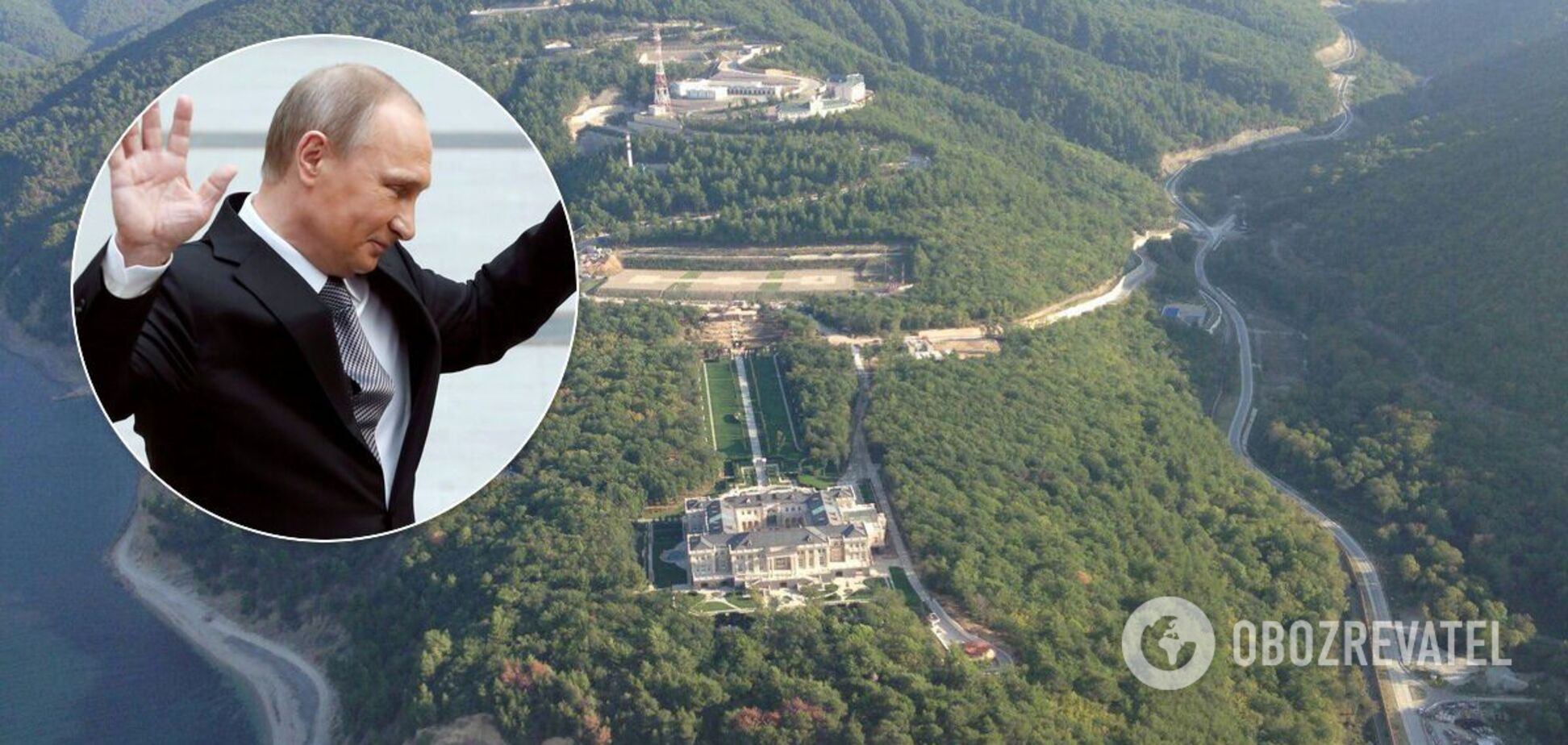 Дворец президента России Владимира Путина