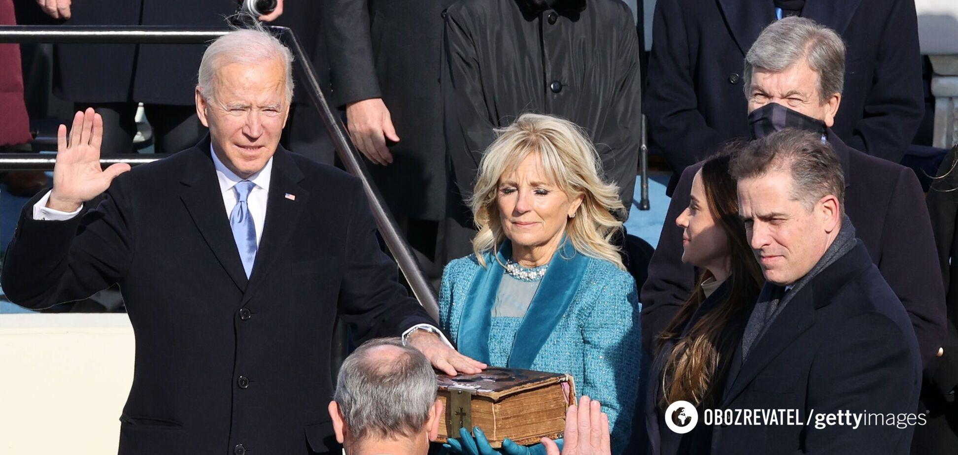 Байден стал 46-м президентом США