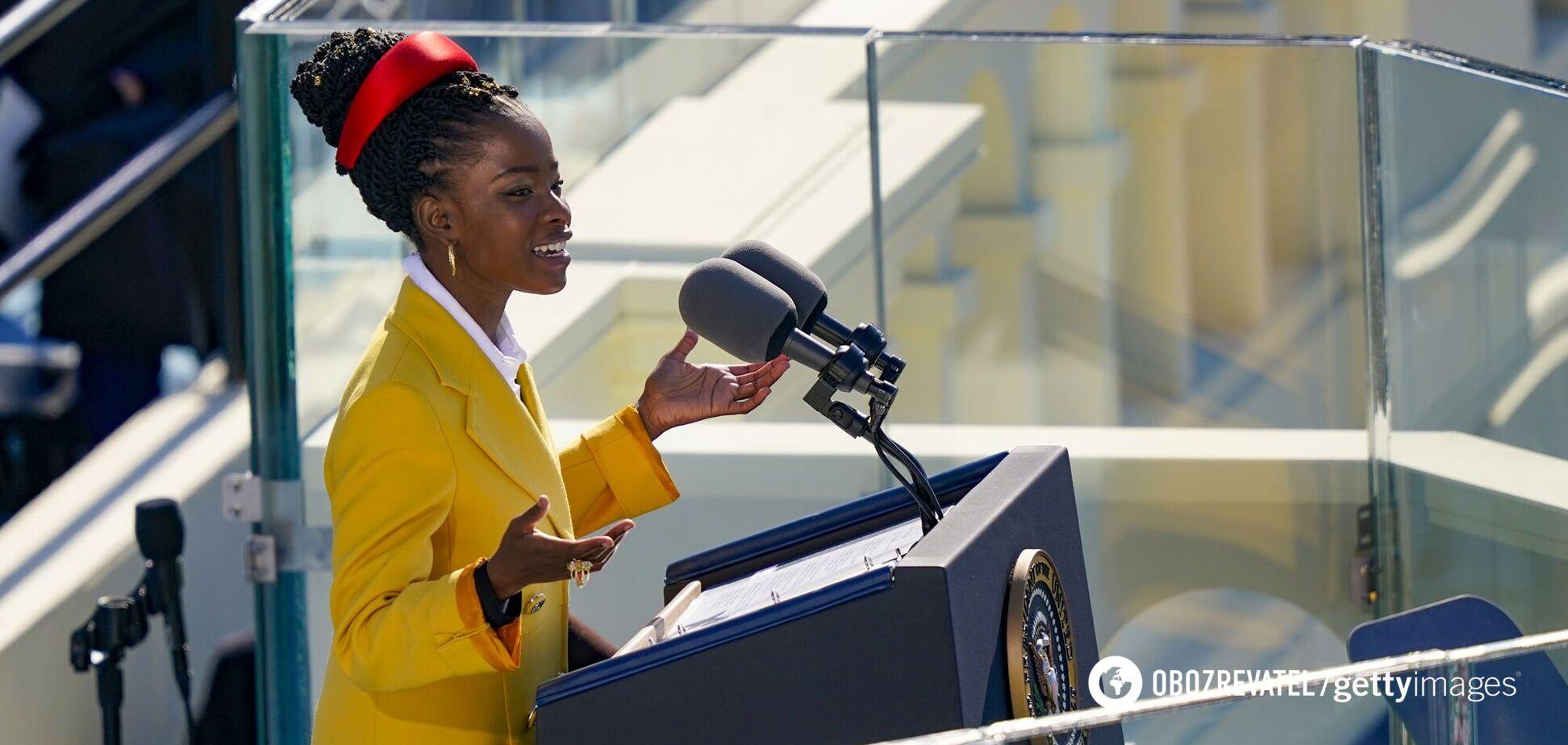 На інавгурації Байдена виступила наймолодша поетеса США. Відео