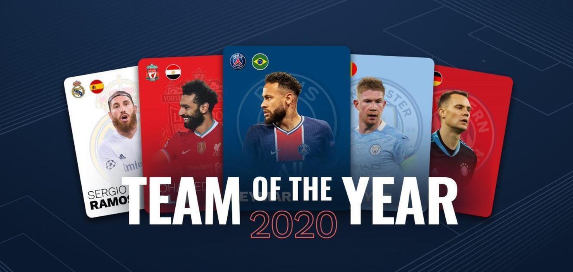 УЄФА вніс п'ять футболістів 'Баварії' до команди 2020 року