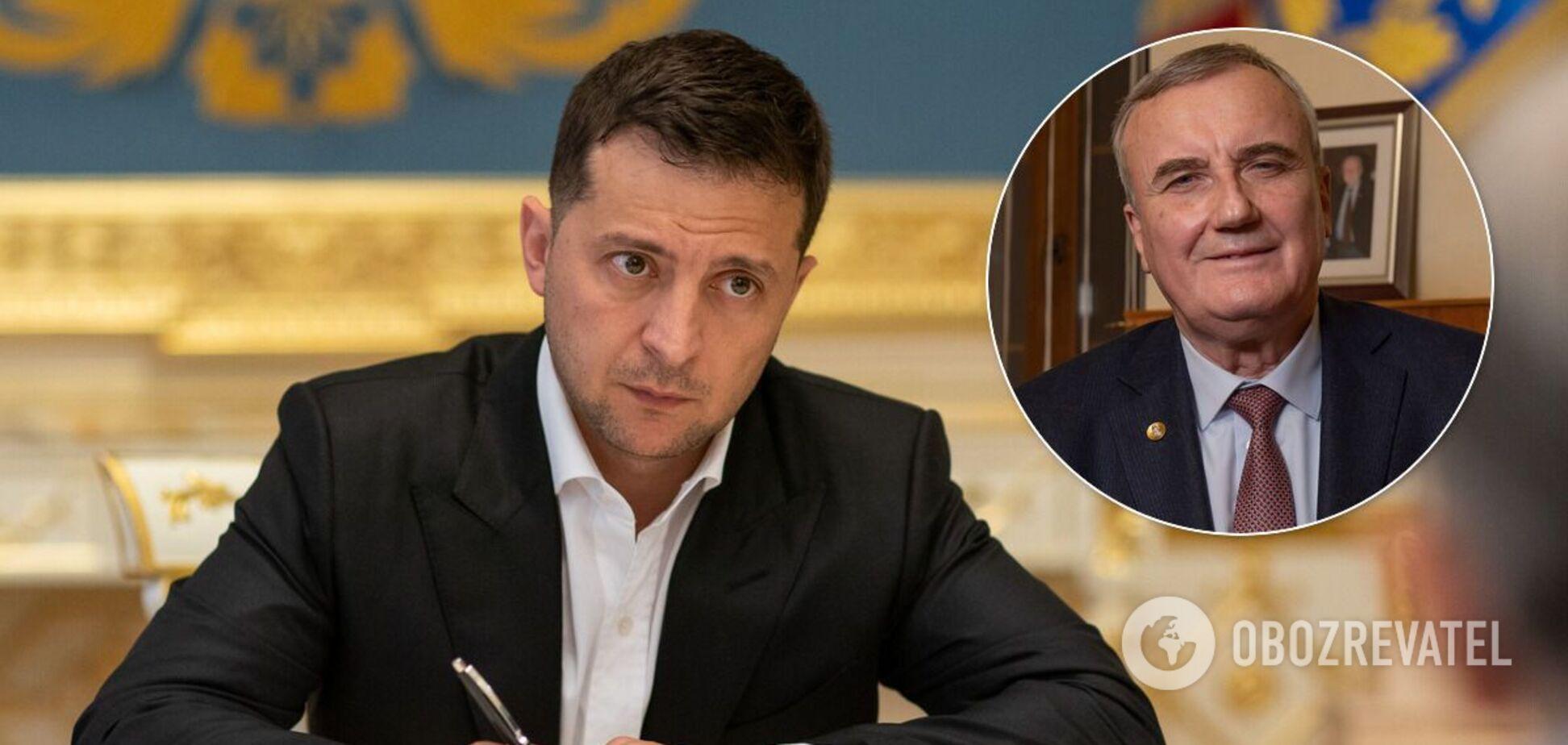 Володимир Зеленський і Анатолій Загородній