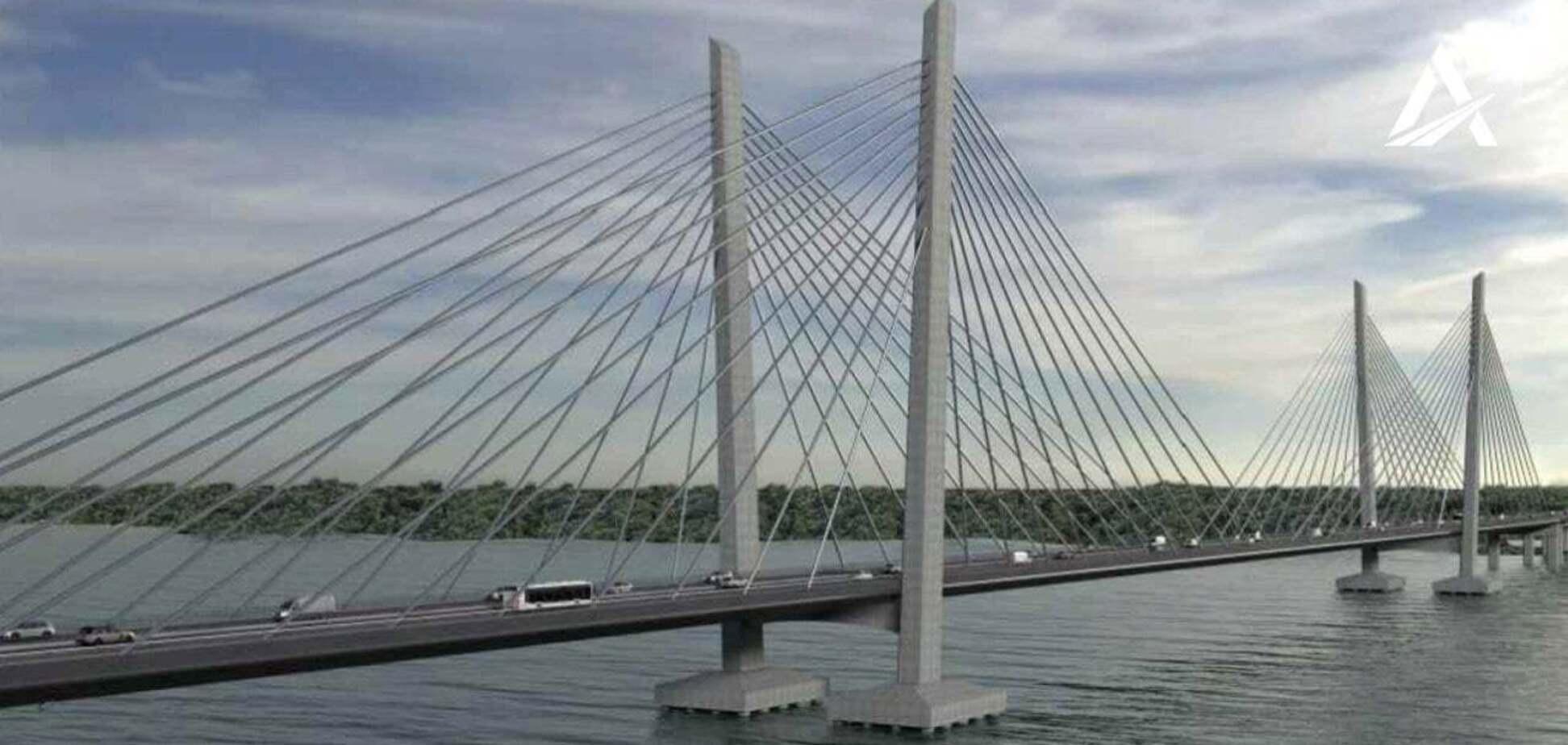 Новий міст у Кременчуцізбудують з економією в 1,27 млрд гривень