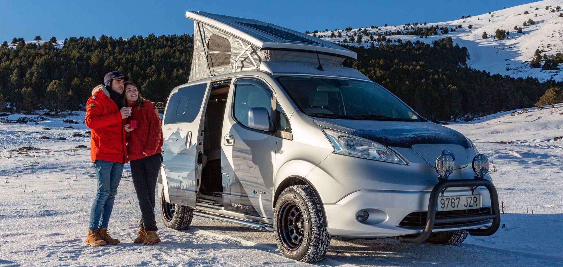 Nissan показав ідеальний автомобіль для зимових подорожей