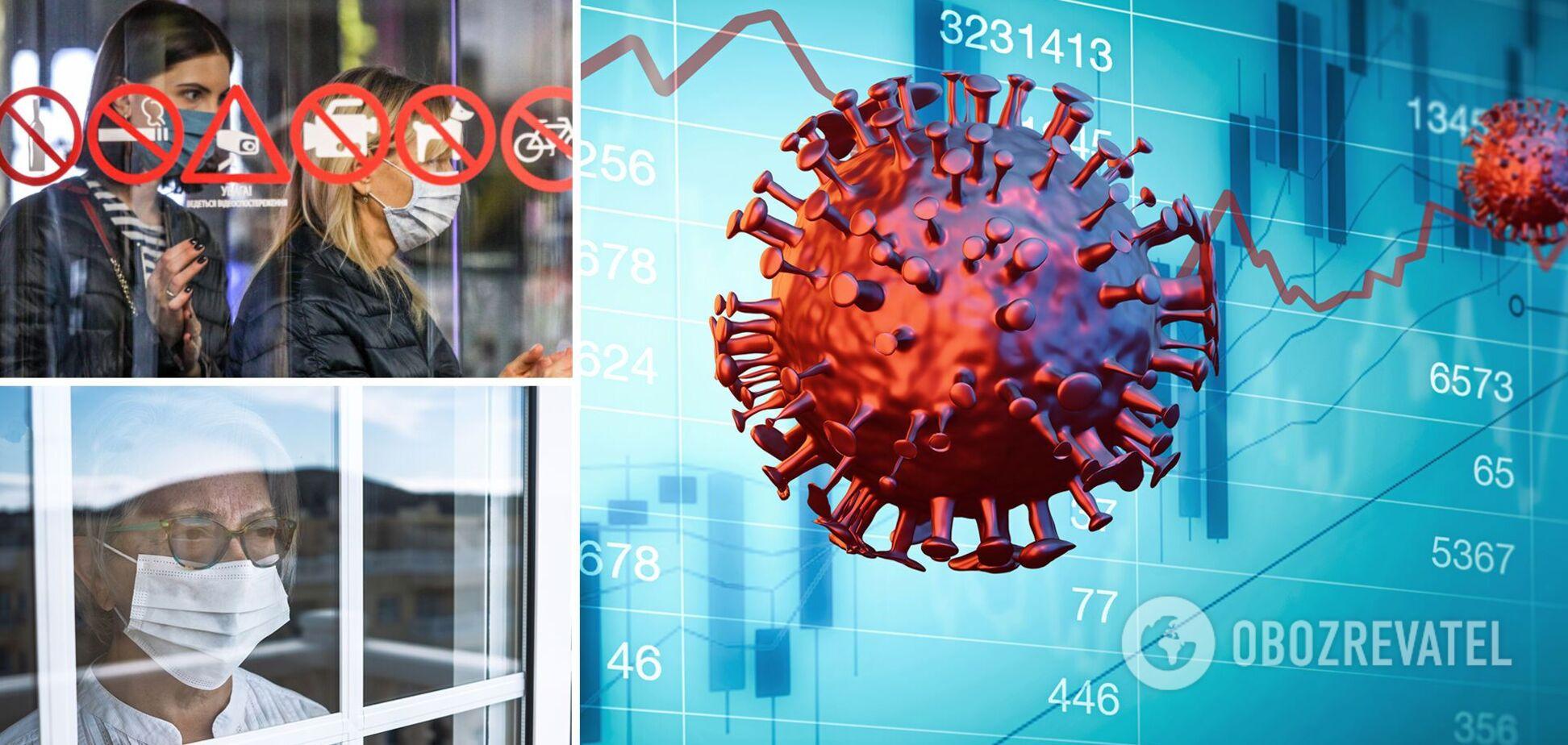 В Украине растет количество смертей от коронавируса