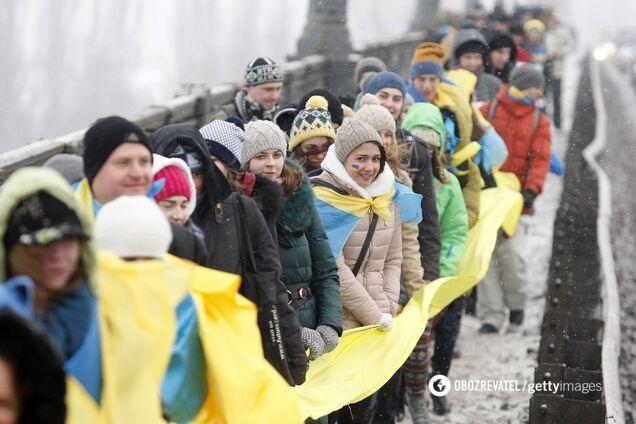 День Соборності: Україна відзначає 102-гу річницю Злуки УНР і ЗУНР