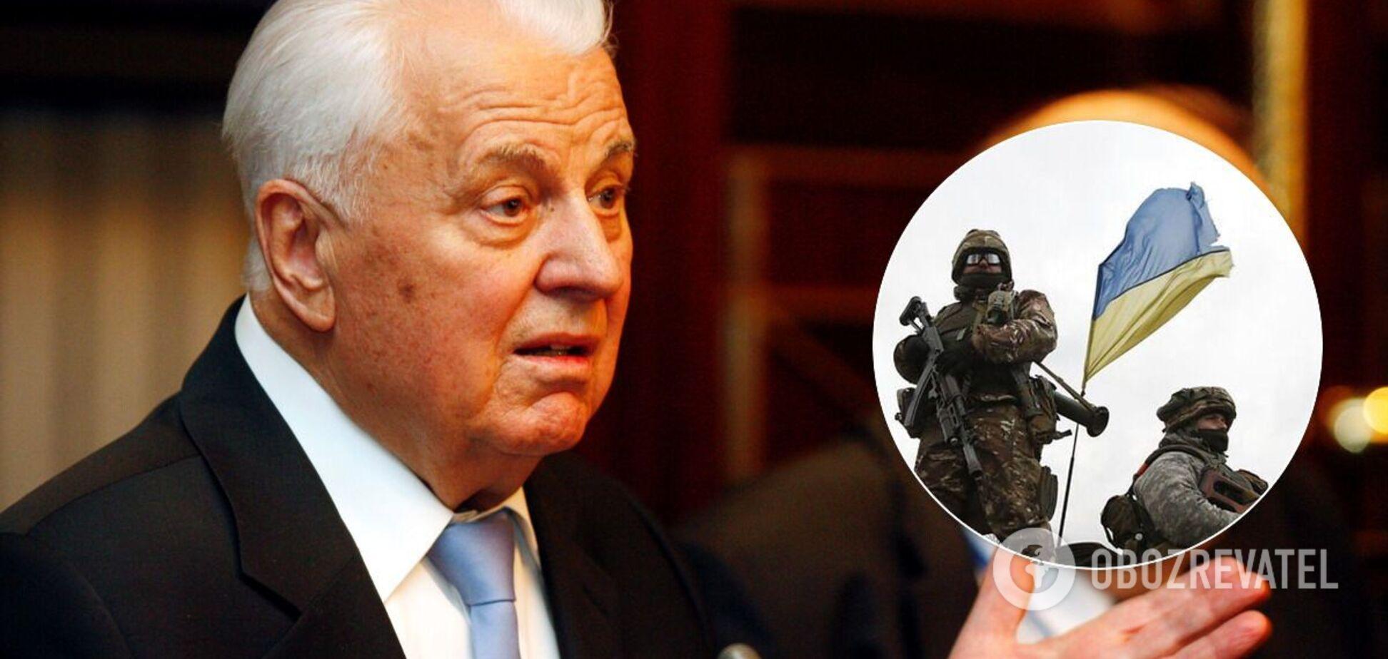 Кравчук: ще одним шляхом для повернення Донбасу є санкції