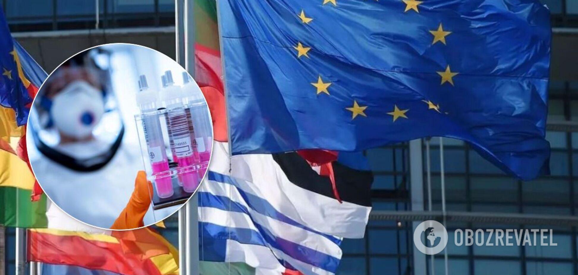 У ЄС ухвалили спільне рішення про тести на коронавірус