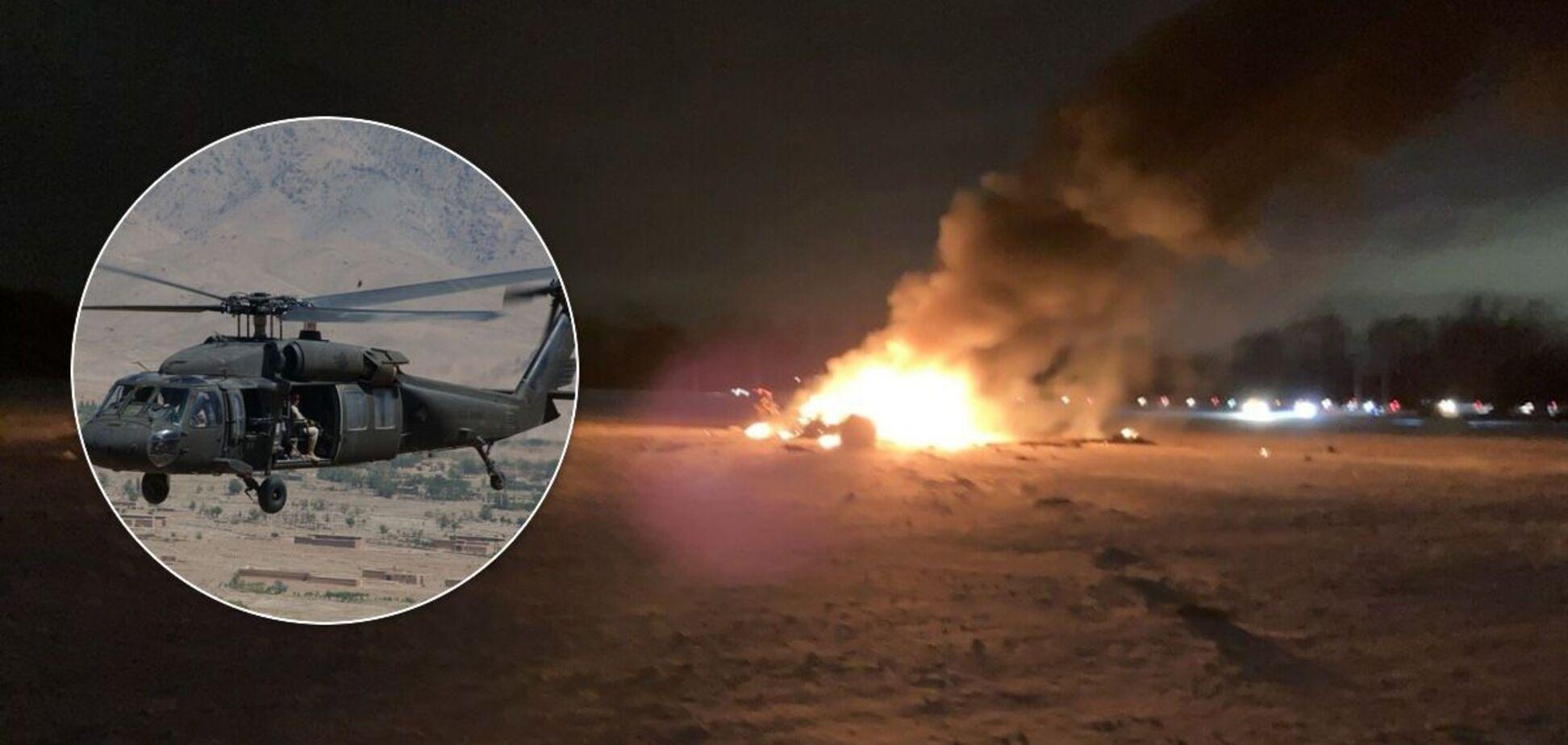 В США разбился вертолет UH-60 Black Hawk