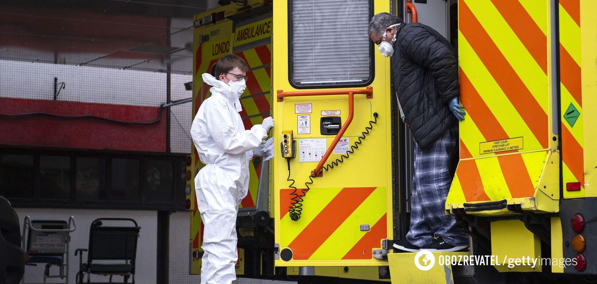 У Британії – рекорд смертності від COVID-19: звинувачують новий штам коронавірусу