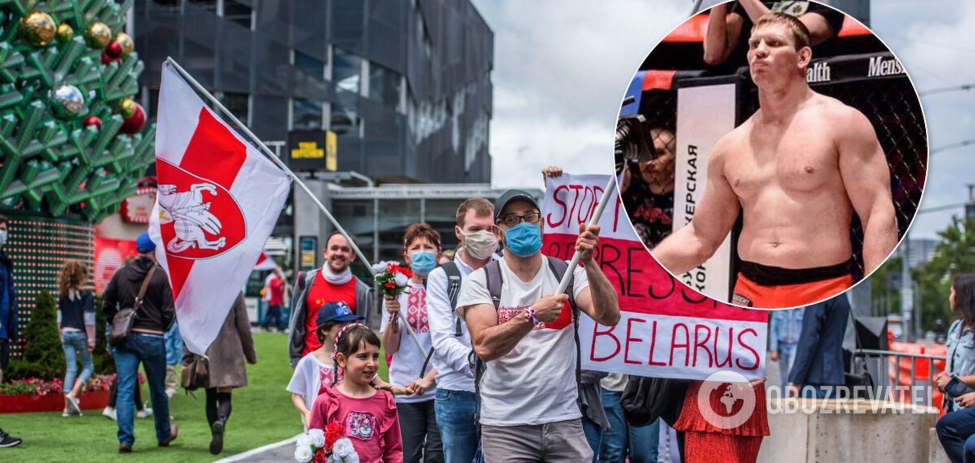 Олексія Кудіна затримали під час протестів у Молодечно