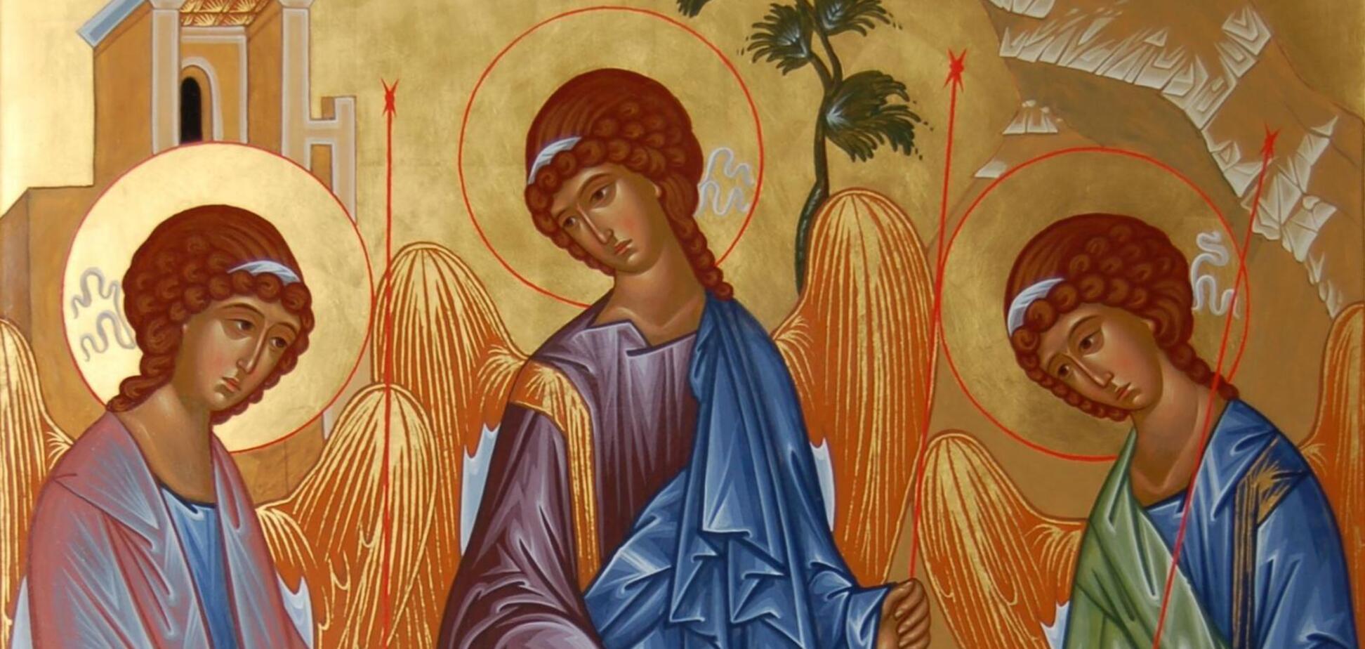 Святая Троица является символом единства Святого Духа, Бога Отца и Бога сына