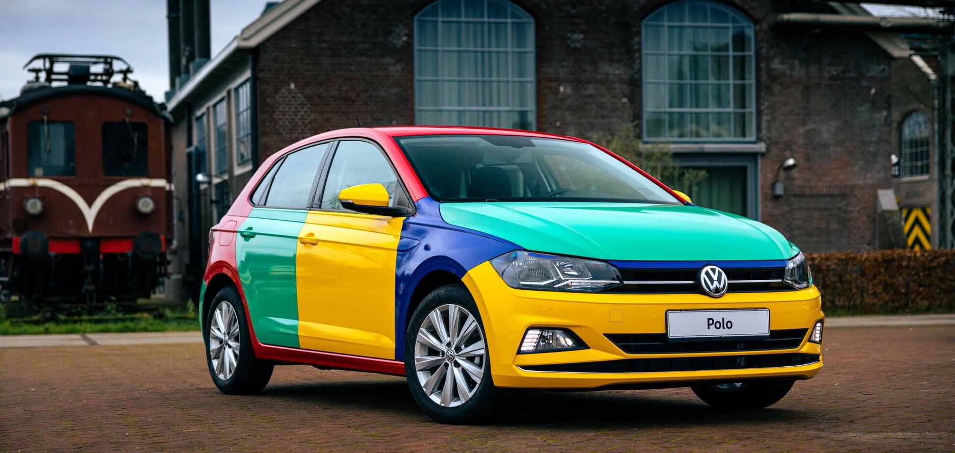 У VW Polo з'явилася різнобарвна версія Harlekin