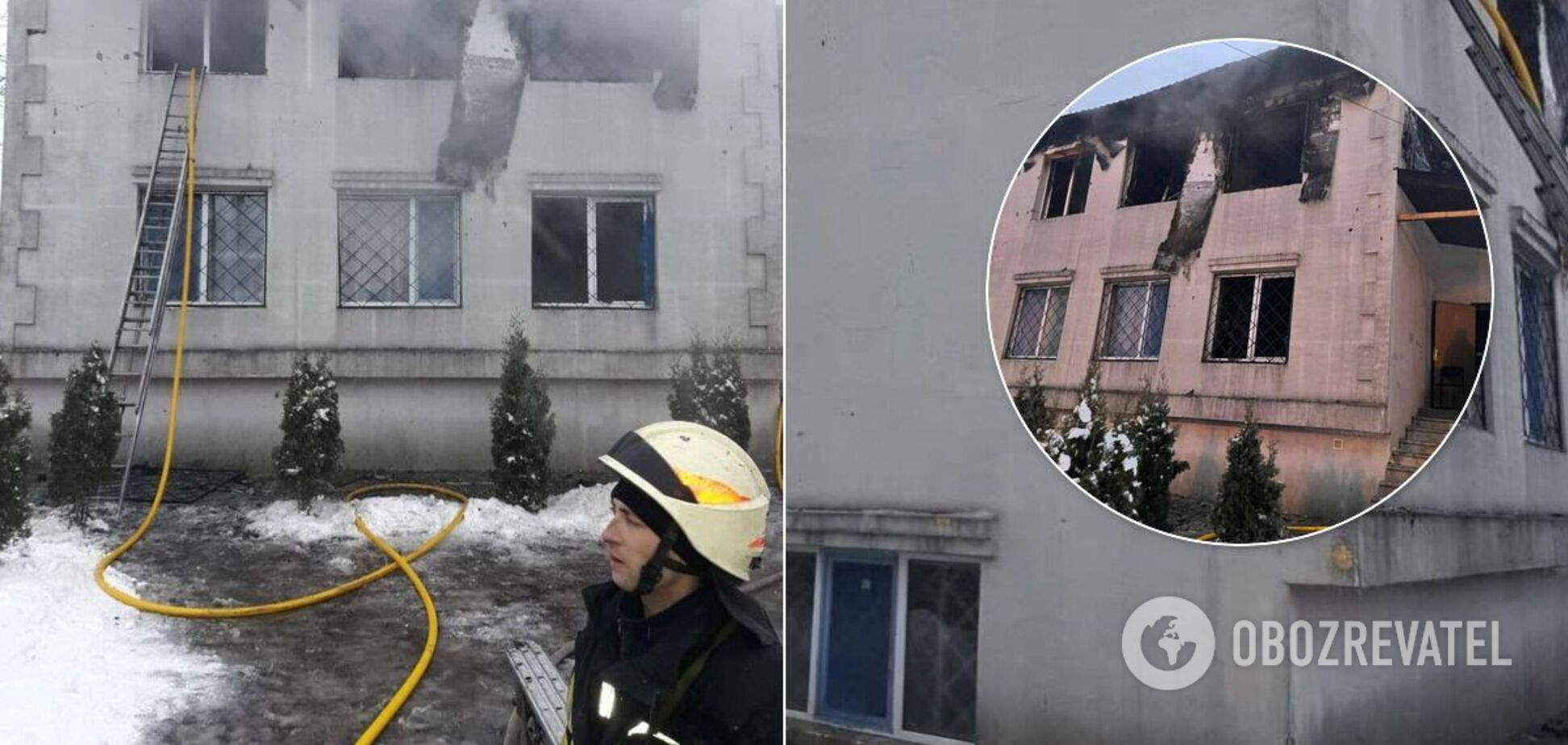 Смертельна пожежа знищила нелегальний будинок для літніх людей: фото та відео НП у Харкові