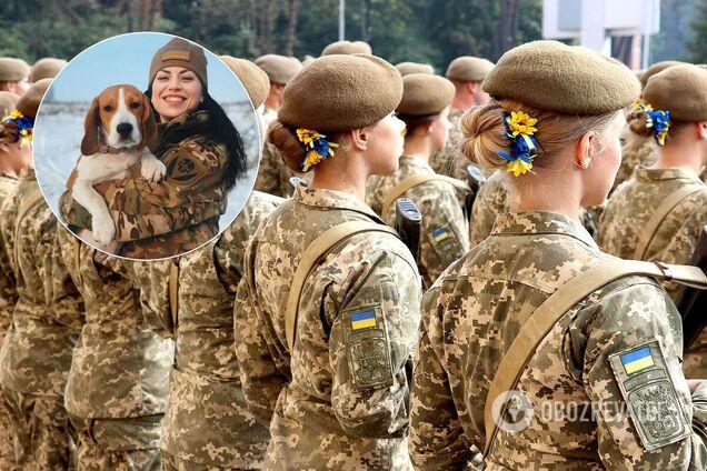 Командирка ЗСУ показала, як воює на Донбасі з улюбленицею. Фото