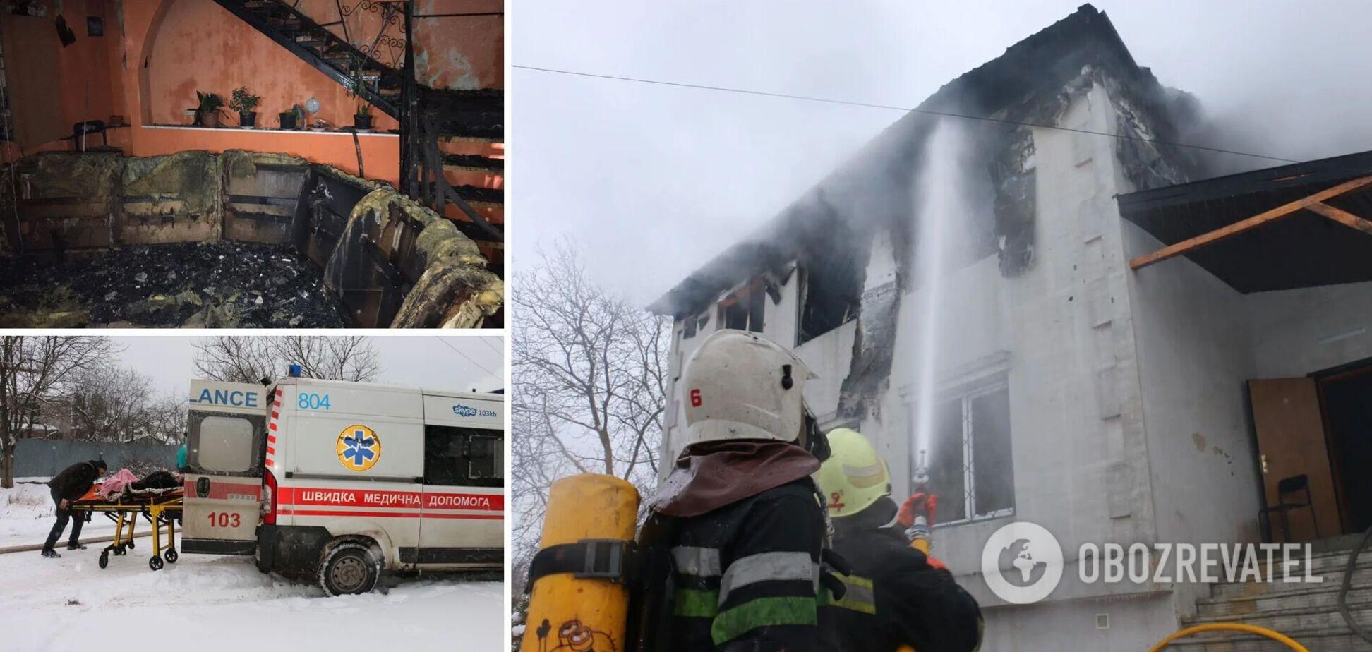 Харьков потрясла трагедия с 15 жертвами: как начался пожар и чем известен владелец дома престарелых