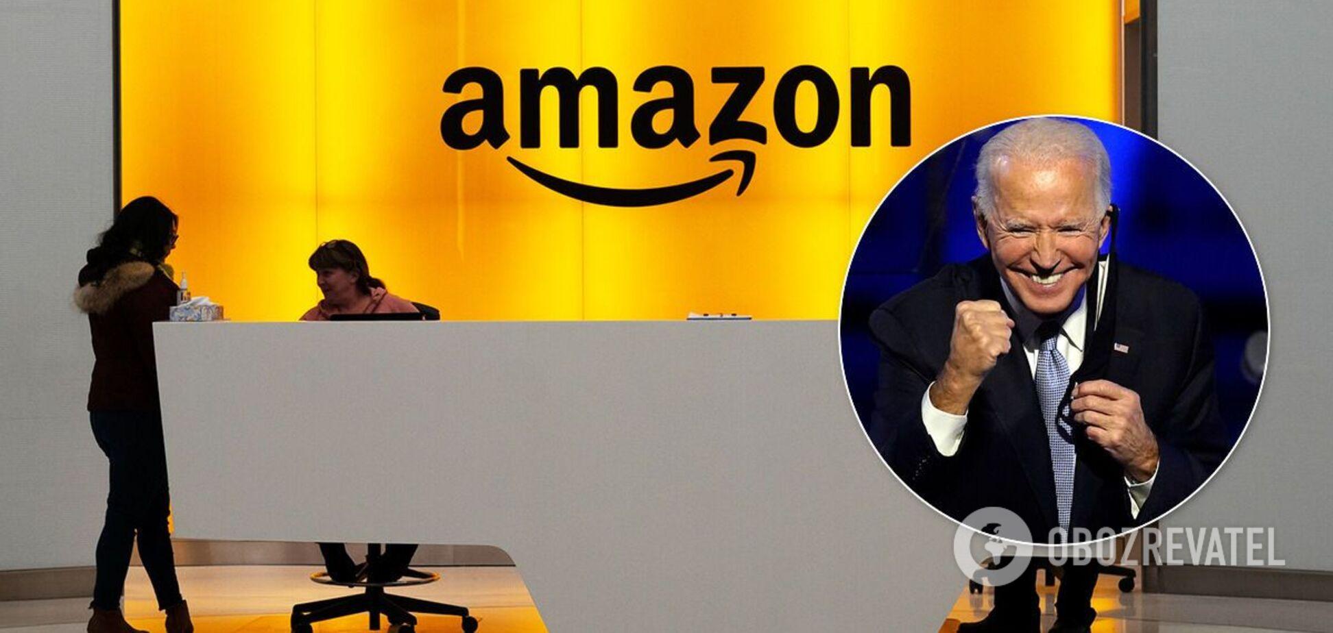 В Amazon написали лист Байдену