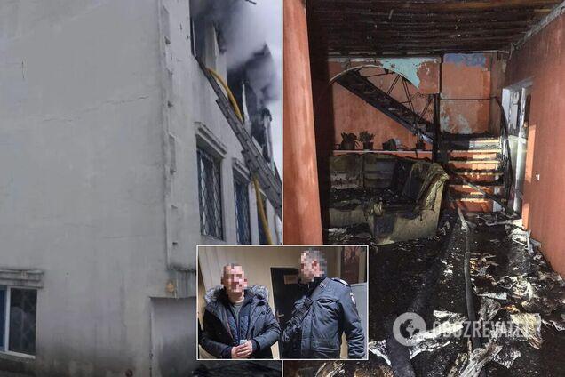 По делу о смертельном пожаре в Харькове появились первые задержанные. Фото и видео