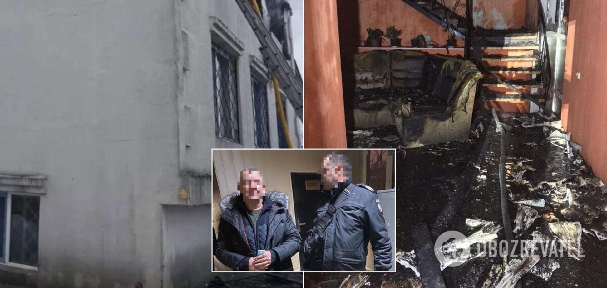 У справі про смертельну пожежу в Харкові з'явилися перші затримані. Фото і відео