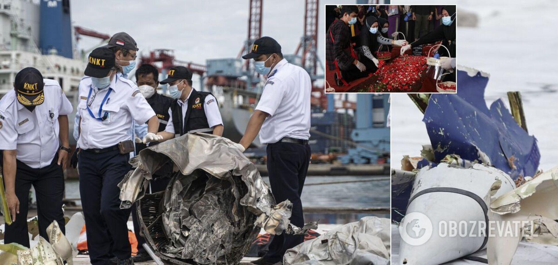 Катастрофа Boeing 737 в Индонезии