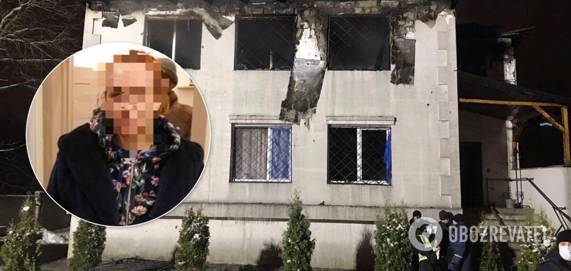 Харьков пожар: сгорел дом престарелых 'Золотое время'
