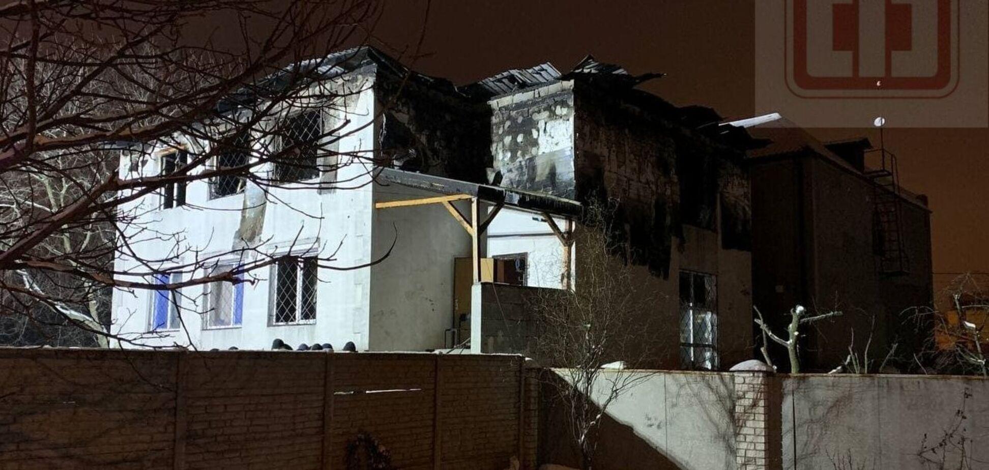Харьковский дом престарелых, где в пожаре погибли люди