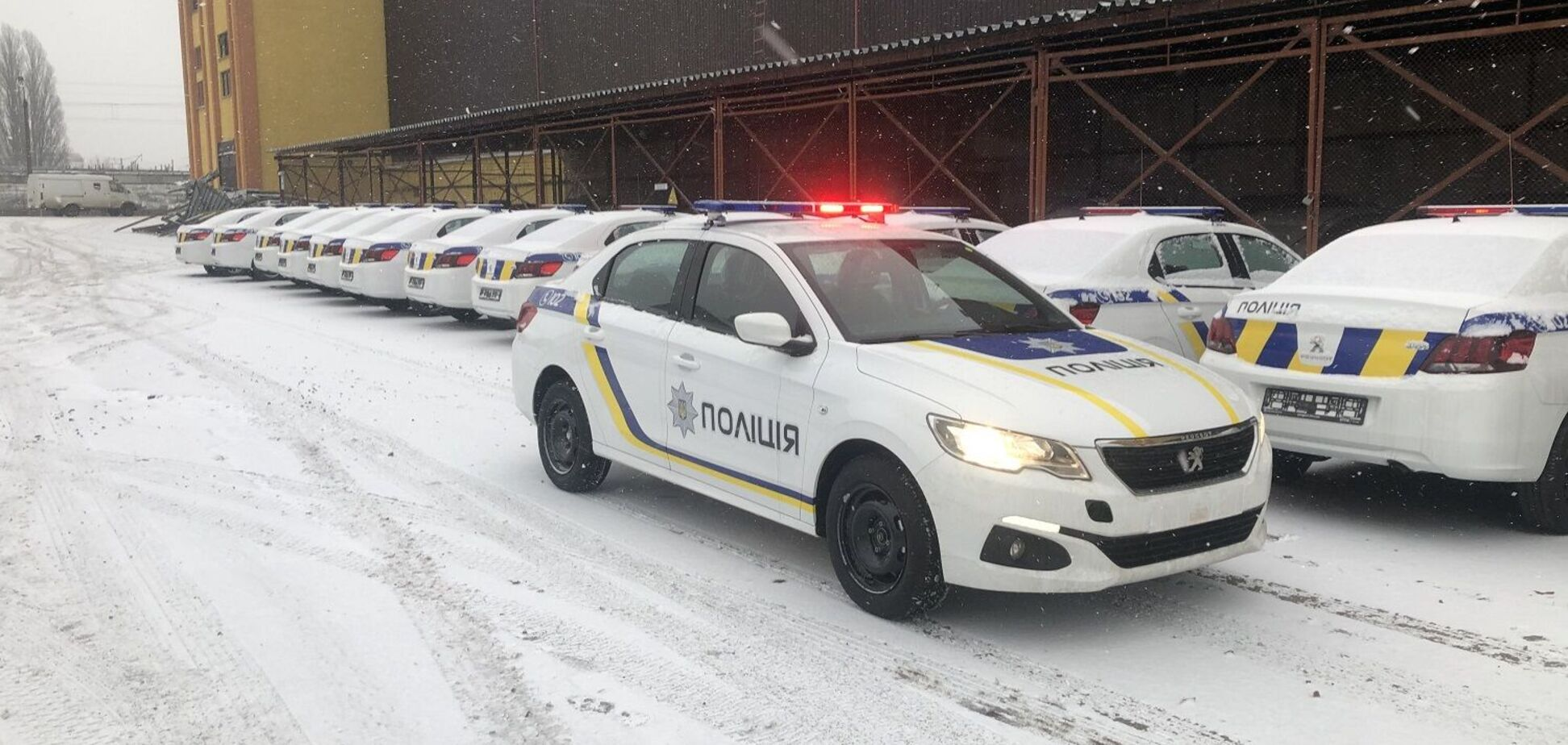 Украинские полицейские пересядут на Peugeot
