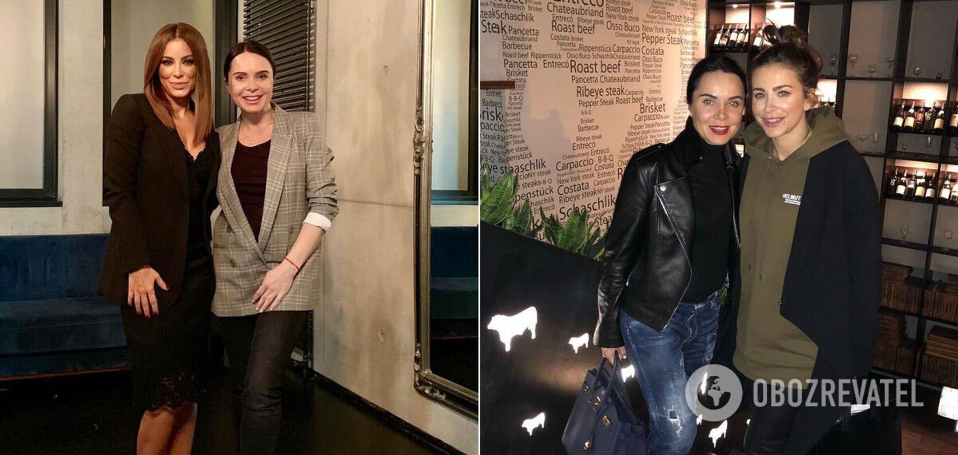 Ани Лорак засветилась в Киеве с Подкопаевой: фанаты не в восторге от встречи