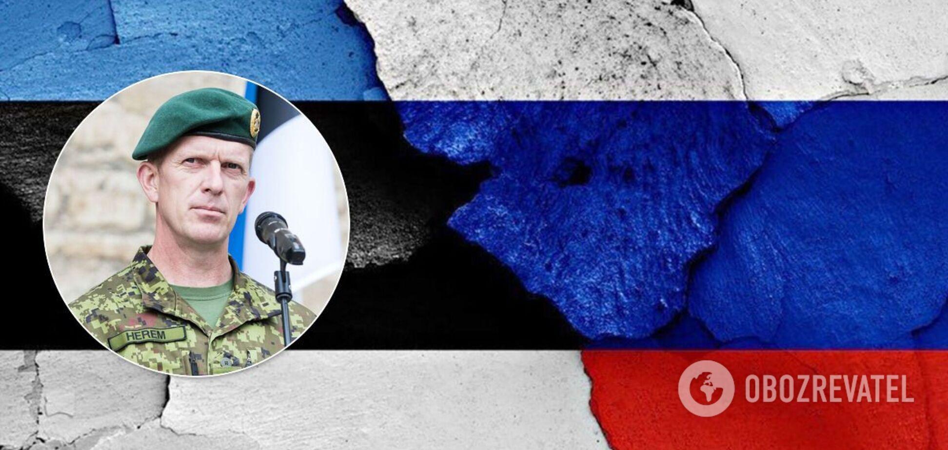 Генерал Херем запропонував збільшити видатки Естонії на оборону