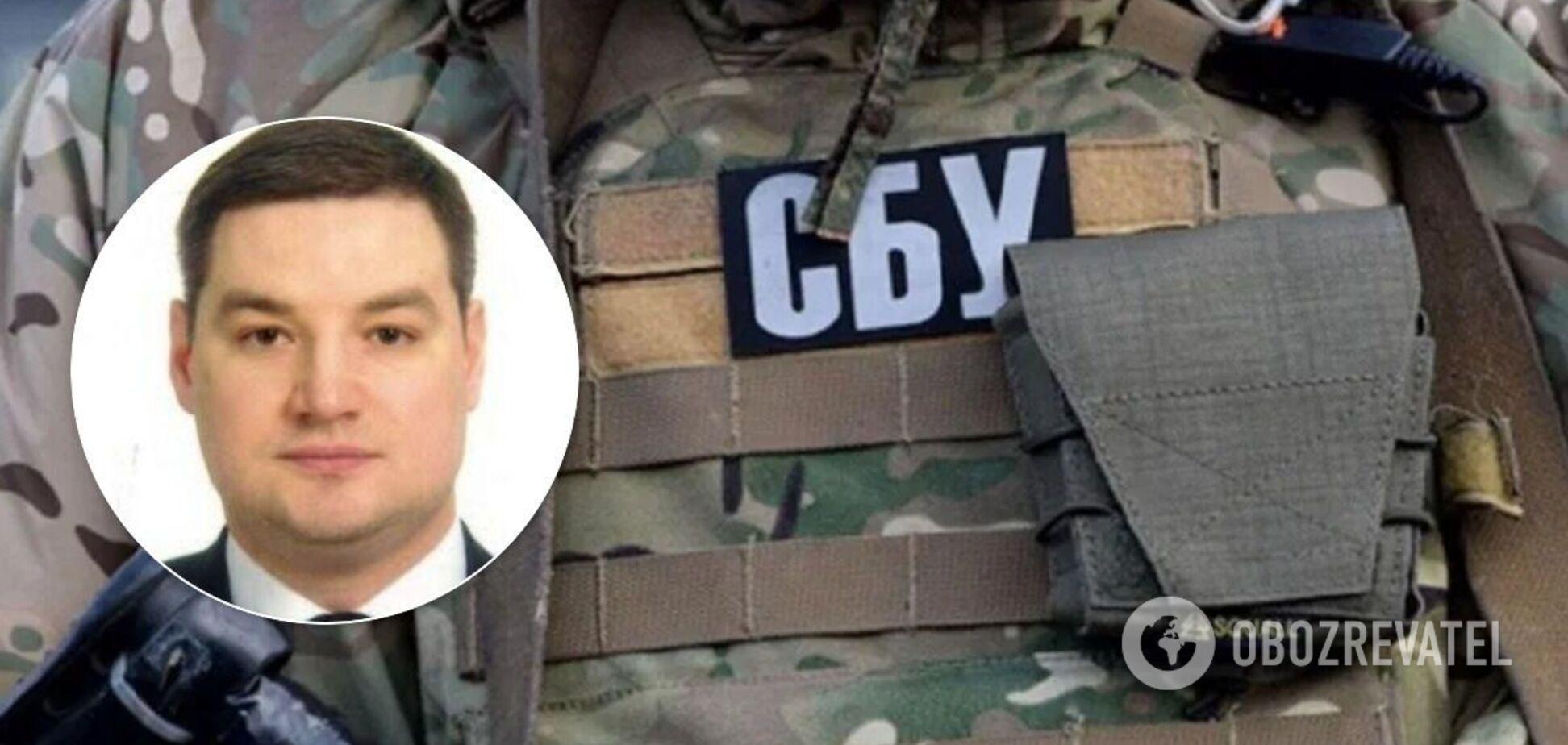 Полковник СБУ Дмитро Нескоромний