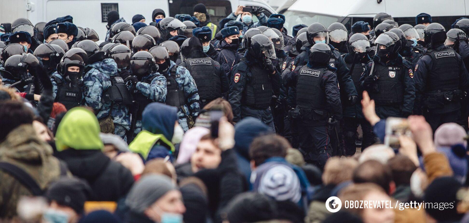 В России проходят многотысячные митинги в поддержку Алексея Навального