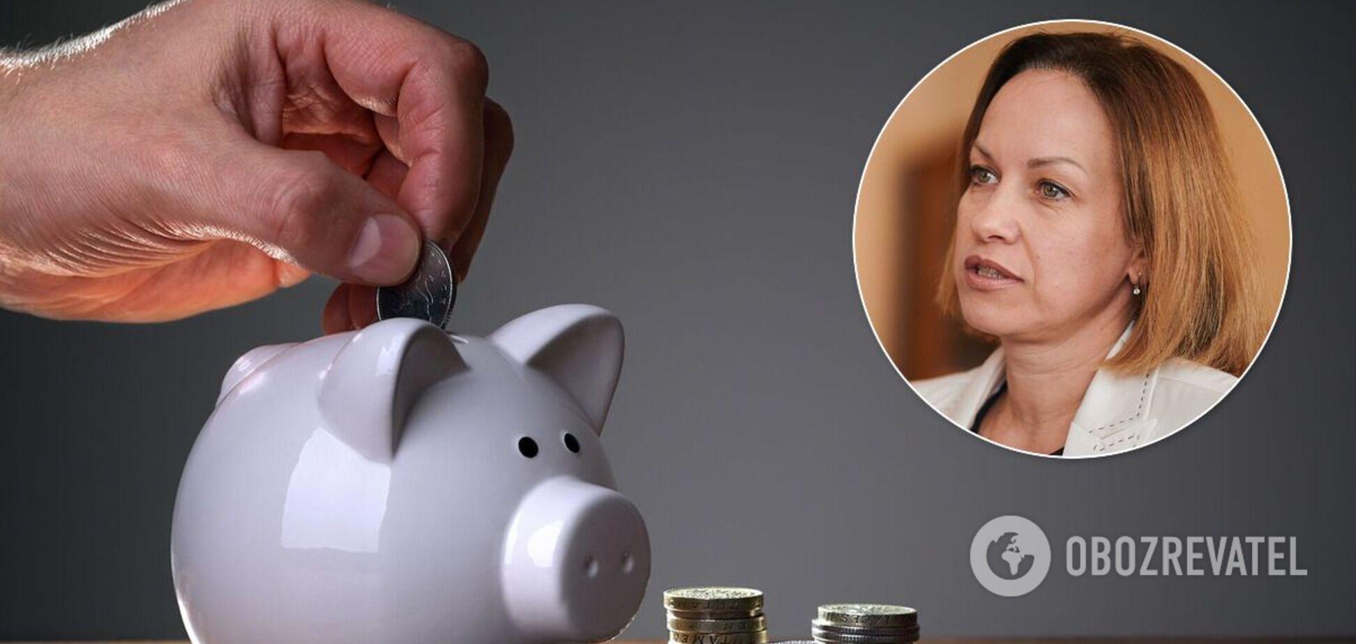 Лазебная рассказала о запуске накопительной пенсионной системы