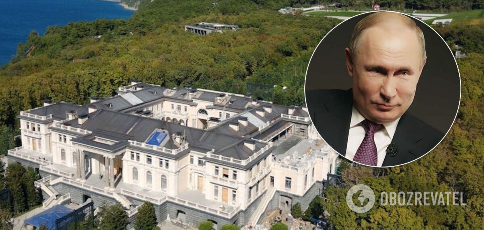 Россияне создали петицию с требованием снести 'дворец Путина'