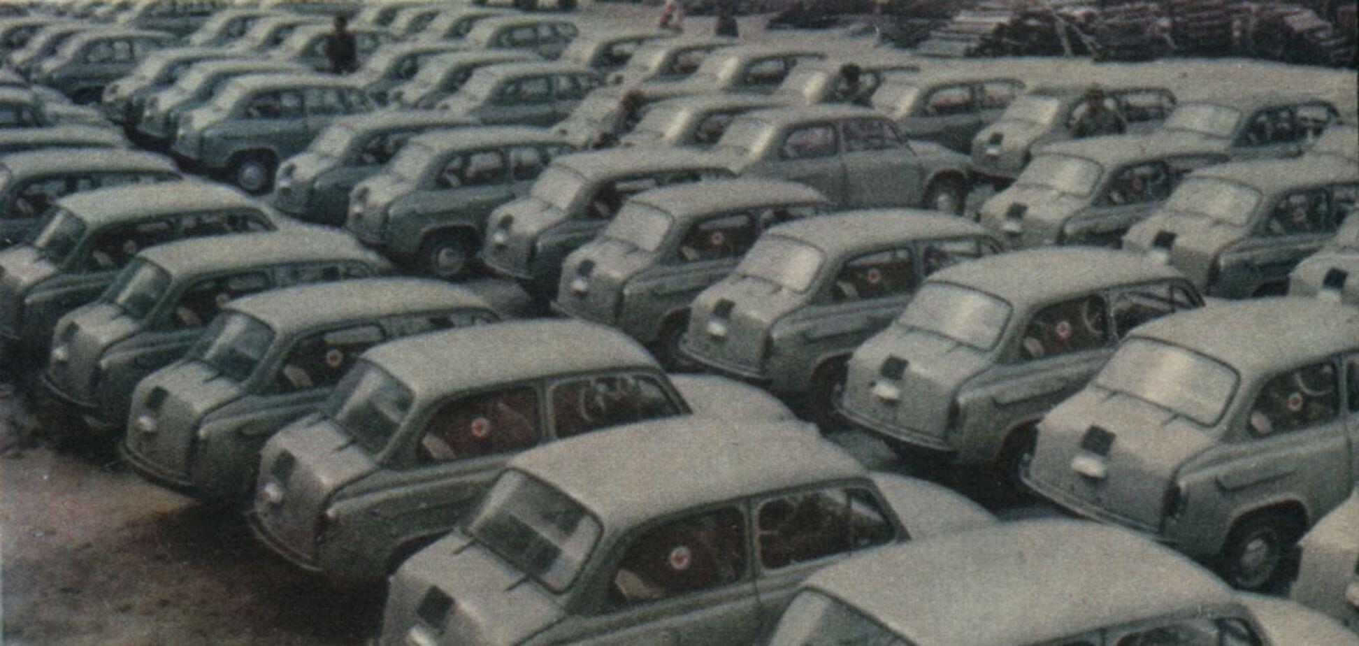 Сколько авто было в СССР и сегодня на 1000 человек – инфографика