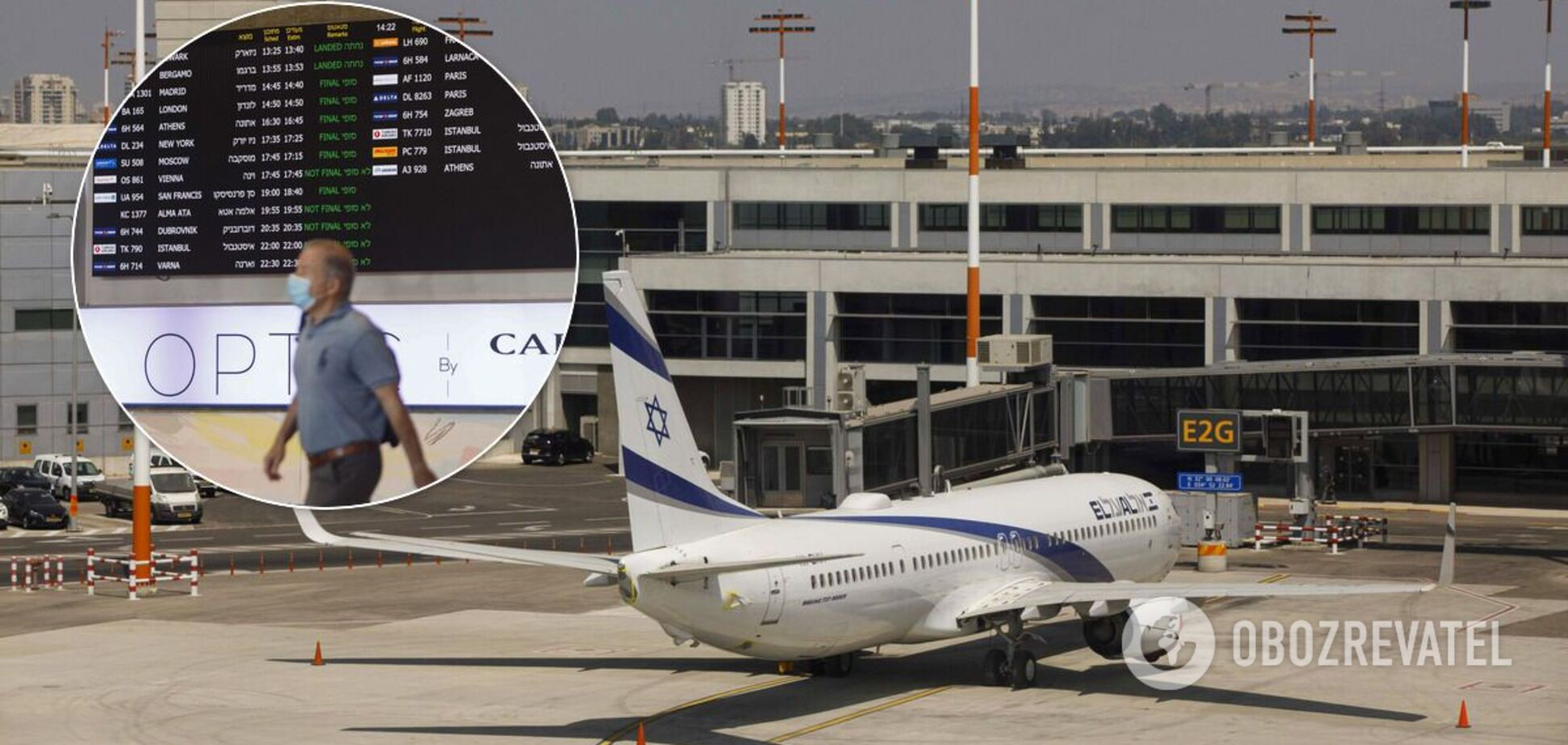 Израїль на тиждень перериває міжнародне авіасполучення