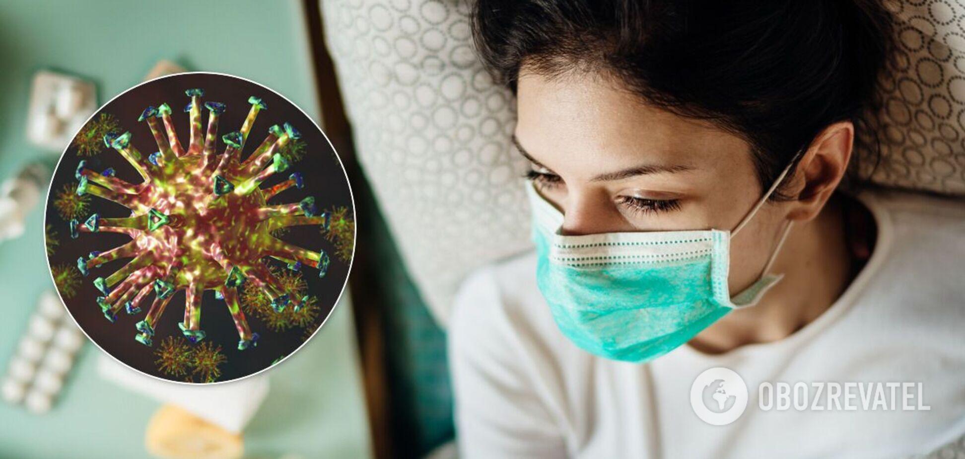 Заражений коронавірусом