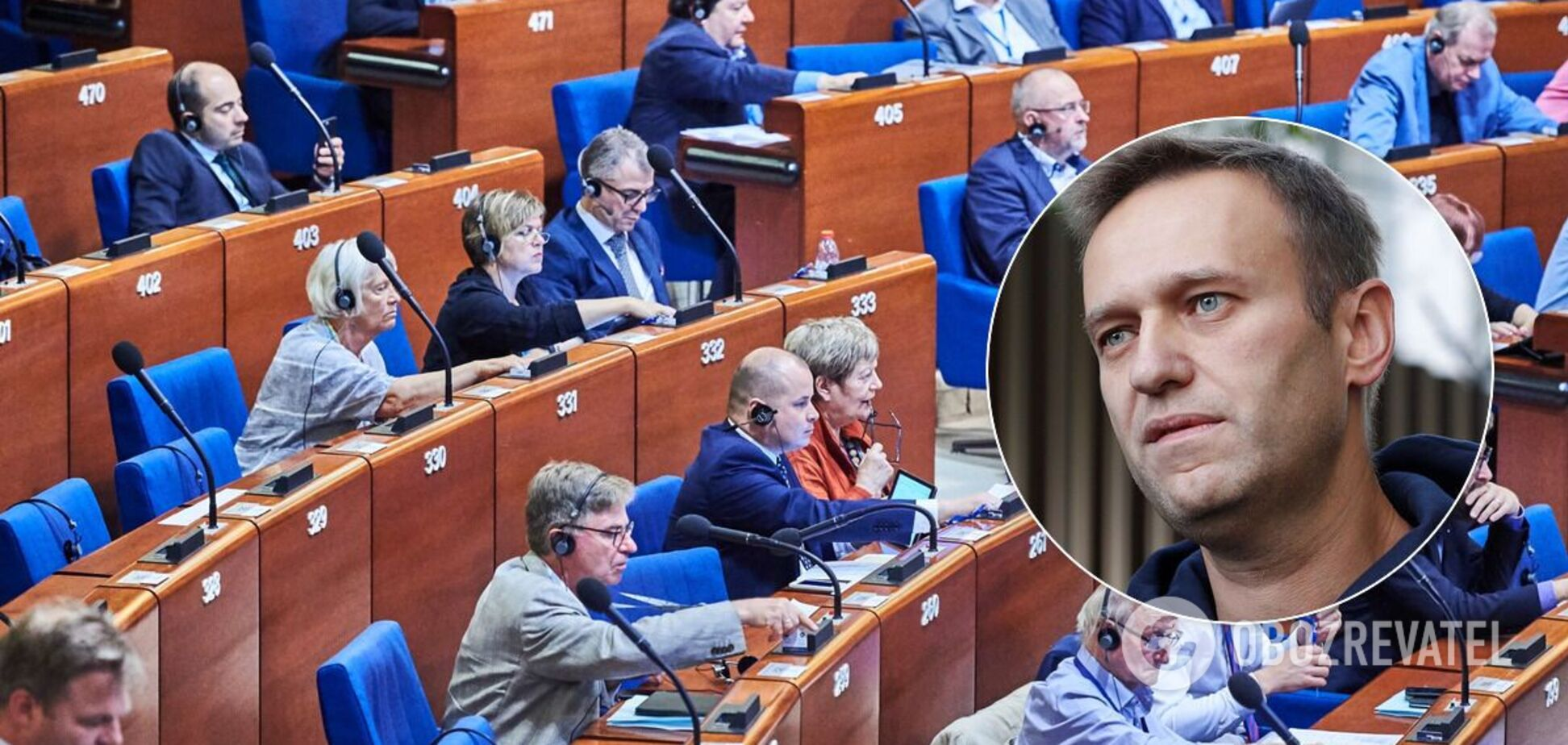 У ПАРЄ призначили дебати у справі Навального