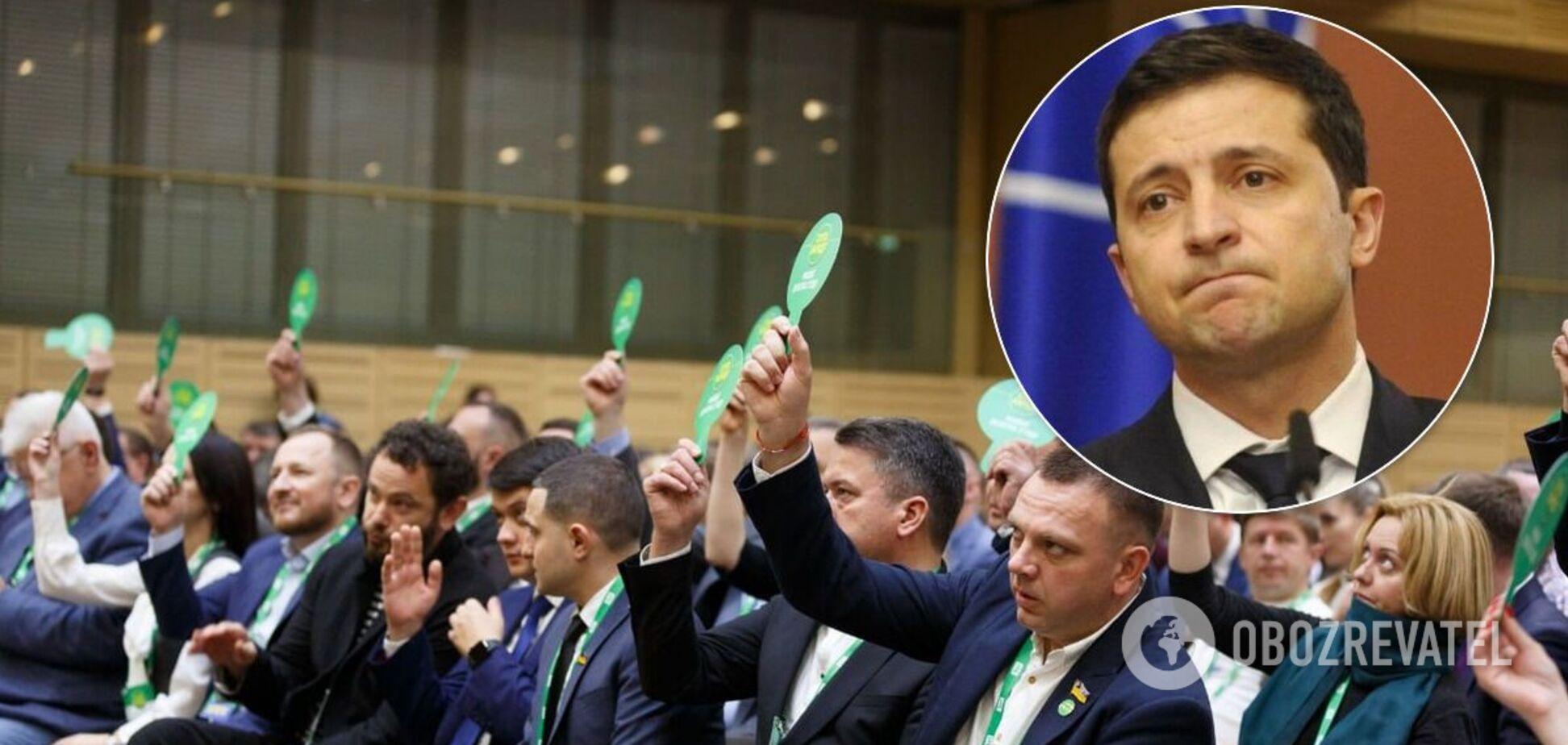 'Слуги народа' собрались на фракцию, приезжал Зеленский: что решили