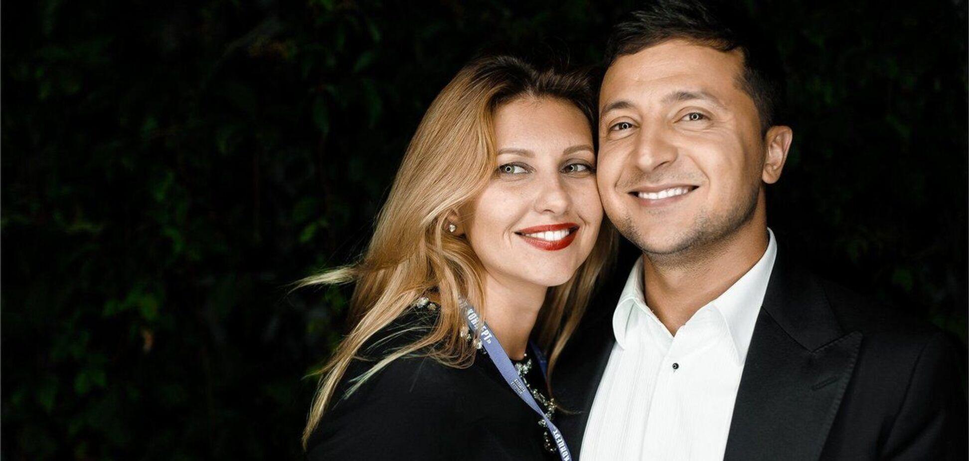 Зеленская трогательно поздравила мужа с днем рождения и поделилась фото