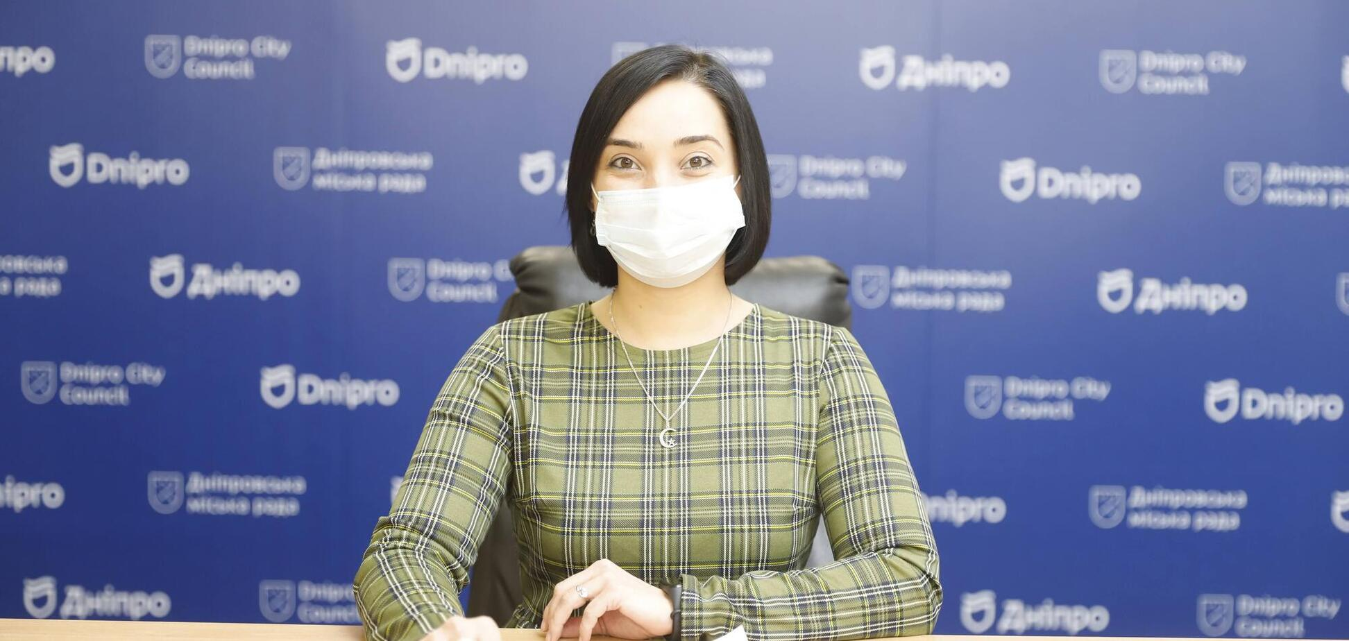 Жанна Нефедова сообщила недельные данные по ситуации с коронавирусом в Днепре