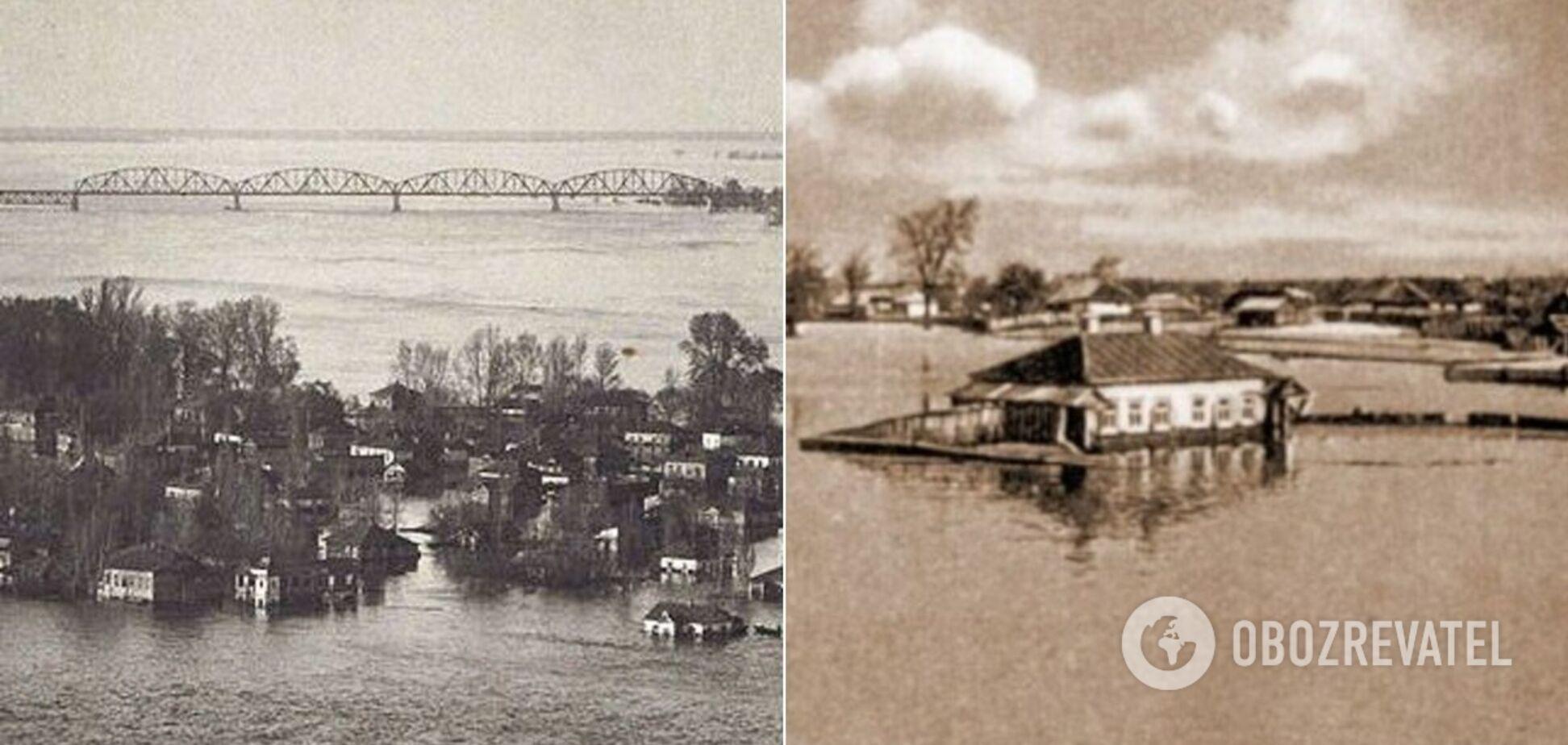 1931 року Київ постраждав від найбільшої в його історії повені