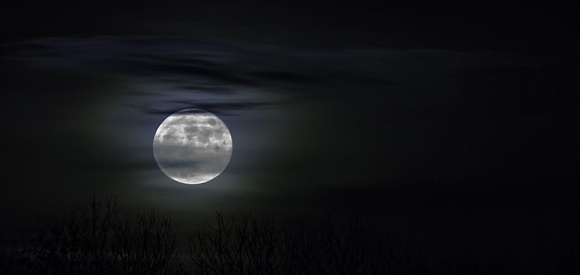 Повний місяць відбудеться о 21:16 за Києвом