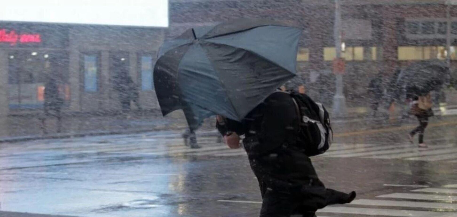 Вдень у столиці можливі опади у вигляді дощу