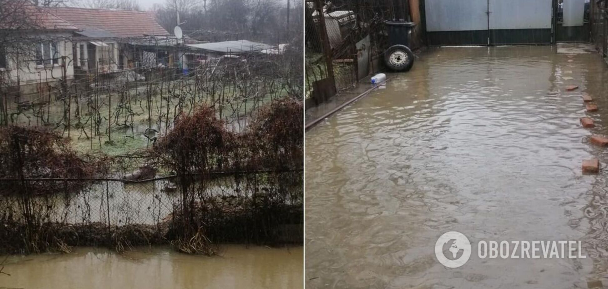 В Ужгороді затопило мікрорайон: жителі звинувачують вирубників лісів. Фото