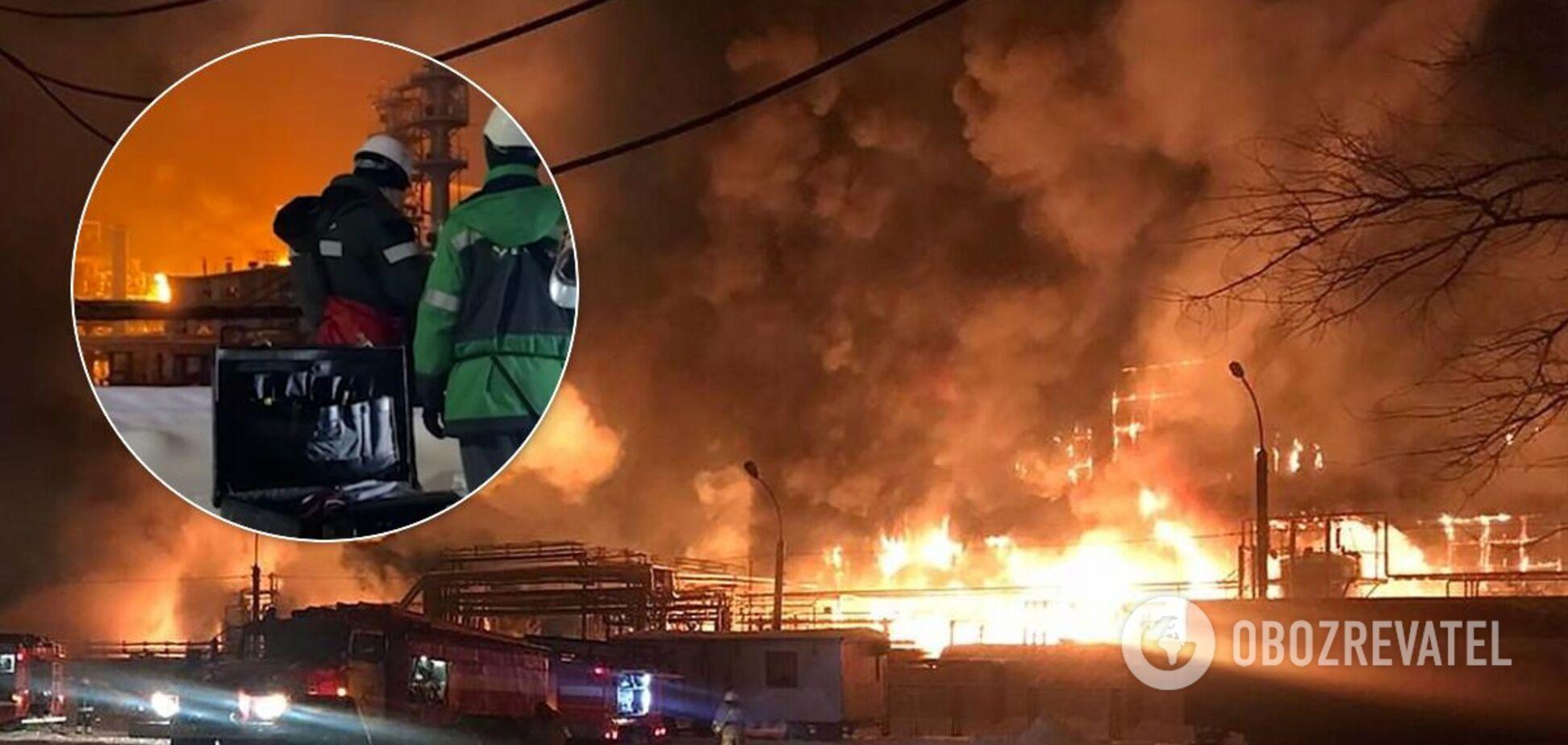 В Уфі стався вибух на заводі