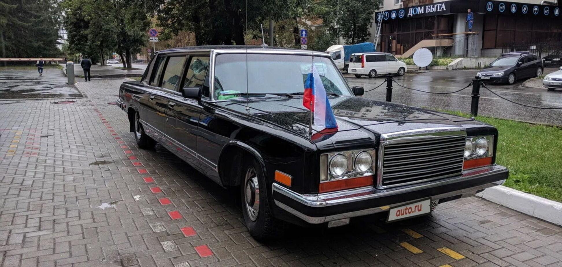 Правительственный лимузин, как у Януковича, оценили в $500 000