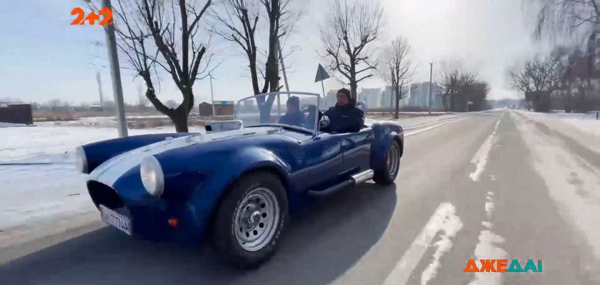 Українець побудував копію культового американського спорткара