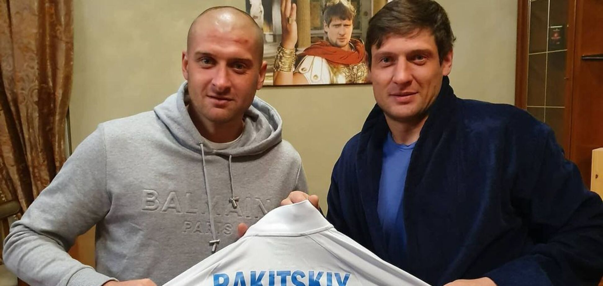Ярослав Ракицкий и Евгений Селезнев
