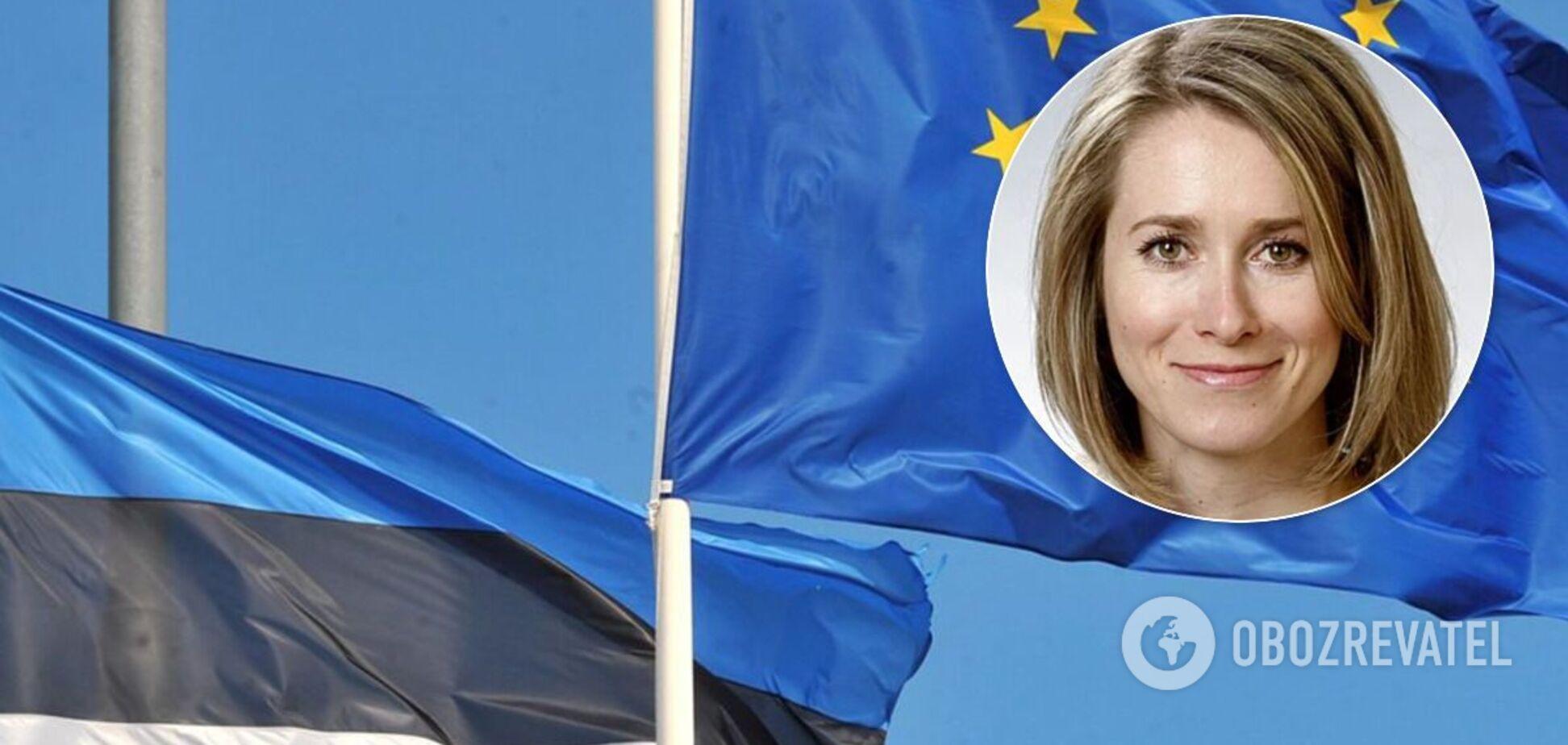 Прем'єр-міністерка Естонії Кая Каллас