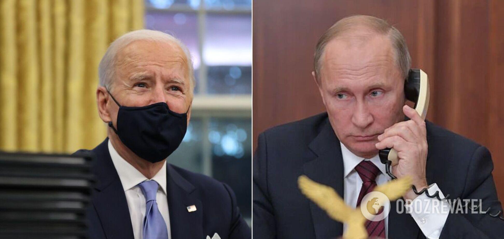 Байден 26 января впервые поговорил с Путиным