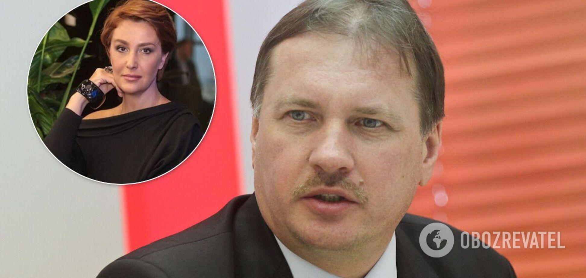 Тарас Чорновил и Снежана Егорова